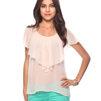 Tiered Flutter Top | FOREVER21 - 2000036180