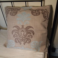 Extra Large Taupe Cushion Covers x 2