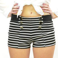 Hamptons South Striped Sailor Shorts
