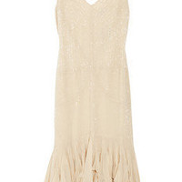 Gryphon Beaded chiffon dress - 65% Off Now at THE OUTNET