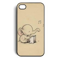 Amazon.com: Elephant Hard Snap on Case Cover for Apple Iphone 4 Iphone 4s Cellphone Case: Cell Phones & Accessories