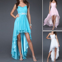 Gorgeous Cocktail Evening Dresses Bridesmaid Party Prom Short Formal Ball Gown