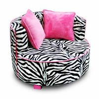 Magical Harmony Kids Magical Harmony Kids 70120 Redondo Chair - Zebra 