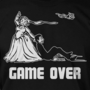 Wedding Game Over Gift Husband Stag Party Screen Printed T-Shirt Tee Shirt T Shirt Mens Ladies Womens Funny Marriage Gift