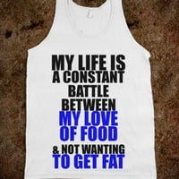 C - Love of Food, Getting Fat - Righteous