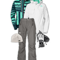 The North Face® Women's Snowboarding Outfit