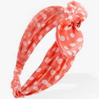 Tied Polka Dot Headwrap | FOREVER21 - 1035554121