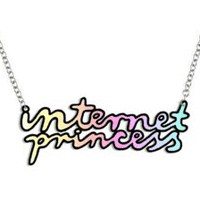 yippywhippy  PRE-ORDER internet princess necklace