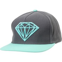 Diamond Supply Brilliant Mint & Grey Snapback Hat