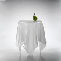 EcoVolveNow ILLUSION TABLE ICE WHITE