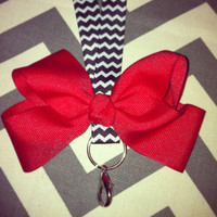 Chevron Key Lanyard