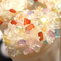 Gummy Bear Sugar Lip Scrub - Handmade Exfoliating Sugar Lip Scrub