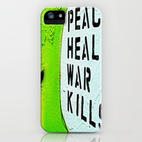 Peace Heals iPhone Case by SSC Photography | Society6