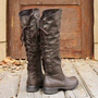 Winthrop Lace Back Boots, Rugged Boots & Shoes