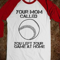 No Game-Unisex White/Red T-Shirt