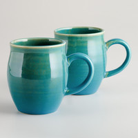 Stonington Mugs, Set of 2