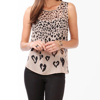 Pixelated Animal Spots Tank | FOREVER 21 - 2044887508