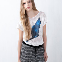 PRINT TOP - T-SHIRTS AND TOPS - WOMAN -  France