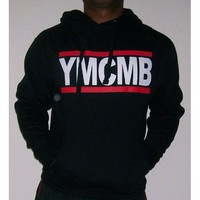 Young Money YMCMB Black Hoodie Size Large