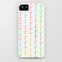 Anchors iPhone Case by Maressa Andrioli | Society6