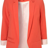 Tangerine Boyfriend Blazer - Blazers - Jackets - Clothing - Topshop