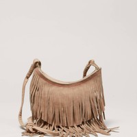 AEO Fringed Crossbody Bag | American Eagle Outfitters