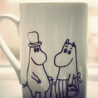 Moomin mug by Mr Teacup by MrTeacup on Etsy