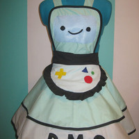 BMO Adventure Time Inspired Cosplay Apron Pinafore