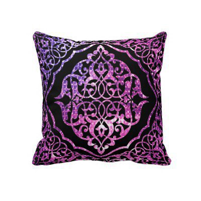 Sparkling Damask from Zazzle.com