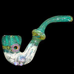 Colored Sherlock - Sherlocks - Colored & Color Changing Glass - Smoking Pipes - Grasscity.com
