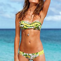 Lemon Push-Up Bandeau Top - Beach Sexy - Victoria's Secret