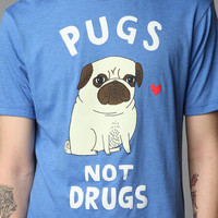Urban Outfitters - Gemma Correll Pugs Not Drugs Tee