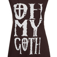 Oh My Goth Tank By Project Social T - New In This Week  - New In