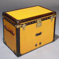 Vintage Louis Vuitton Shoe Trunk, circa 1920