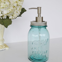 WIN THIS    Soap Dispenser Reserved for VestiesTeam by JudysJunktion