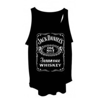 ***Ladies Jack Daniels Vest*** Free Size Tank Top T-Shirt Singlet ***NEW***