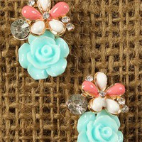 Burst Of Spring Earrings