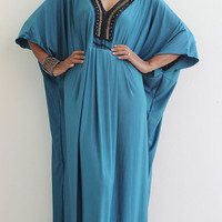 Maxi Dress - Kaftan Kimono Butterfly Dress : Elegant Collection