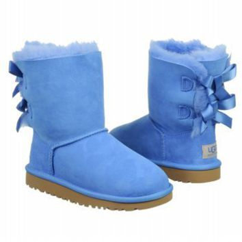 UGG Australia Infants' Bailey Bow Toddler Suede Boots
