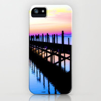Sunrise Jetty iPhone Case by Brian Raggatt    | Society6