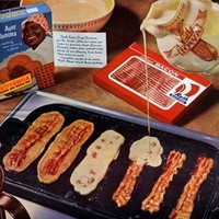 Delicious / Today in Culinary Erotica: Bacon Pancakes: Chicagoist