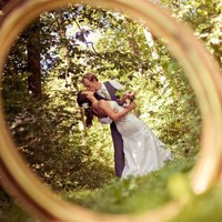 Wedding Photography  / New must-have wedding photo: a portrait through your wedding ring!