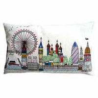 London Skyline Cushion | Dunelm Mill