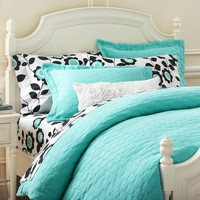 Big Dot Matelasse Duvet Cover & Sham