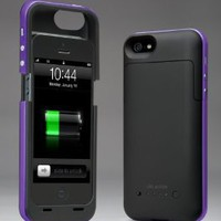 Amazon.com: i-Blason PowerPack iPhone 5 Rechargeable External Battery Glider Full Protection Case with Micro 5 Pin USB Charging Port - AT&T, Sprint, Verizon (Purple): Electronics