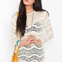 Birkin Lace Dress in Vintage at Nasty Gal