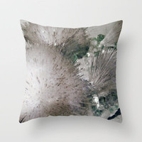 Furry Crystal  Throw Pillow by Revital Naumovsky | Society6