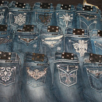Miss Me Little Girls Denim.....sizes 7, 8, 10, 12, 14