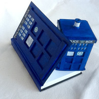 Tardis Journal, Tardis Sketching Book, Tardis Notebook, Tardis Recipe book, Tardis Diary, Doctor Who Journal, Travel book, stationary.