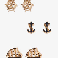 Nautical Stud Set | FOREVER21 - 1021485906